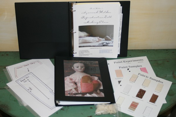 Izannah Walker Doll Making Class by Mail
